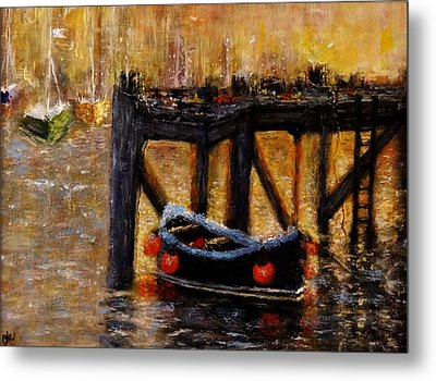 Metal Print featuring the painting Memories.. by Cristina Mihailescu
