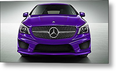 Mercedes Cla Class Coupe Collection Metal Print by Marvin Blaine