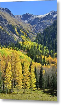 Metal Print featuring the photograph Million Dollar Highway  by Ray Mathis
