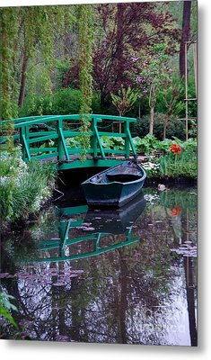 Monet Metal Print by Nancy Bradley