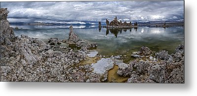 Mono Lake Metal Print by Cat Connor