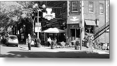 Montreal Street Photography Metal Print by Reb Frost