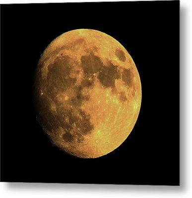 Moon Metal Print by Rowana Ray
