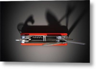 Multipurpose Penknife Metal Print