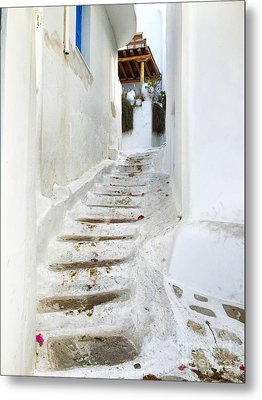 Mykonos Metal Print by HD Connelly