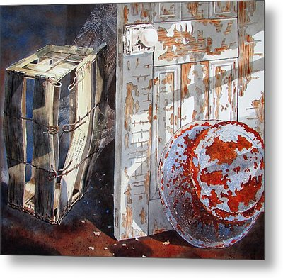 Once Metal Print by Tony Caviston