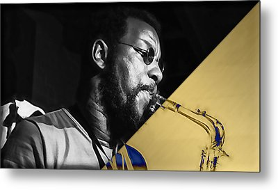 Ornette Coleman Collection Metal Print by Marvin Blaine