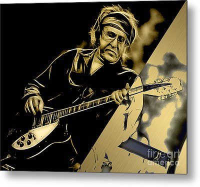 Paul Kantner Jefferson Airplane Metal Print by Marvin Blaine