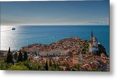 Piran Metal Print by Robert Krajnc