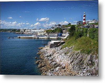 Plymouth Foreshore Metal Print by Chris Day