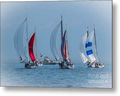 Port Huron To Mackinac Race 2015 Metal Print