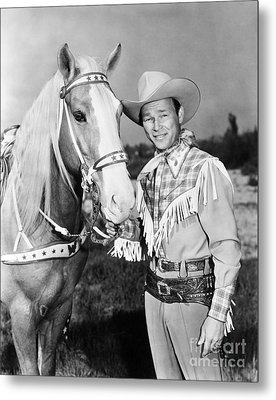 Roy Rogers Metal Print by Granger