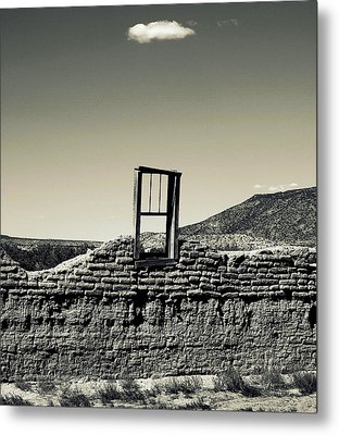Sacred Window  Metal Print