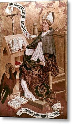 Saint Augustine (354-430) Metal Print by Granger