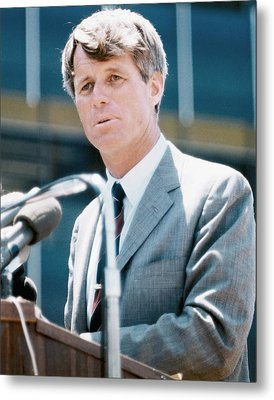 Senator Robert F. Kennedy Metal Print by Everett