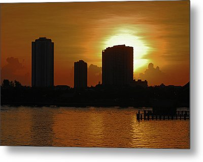 Metal Print featuring the photograph 2- Singer Island by Joseph Keane