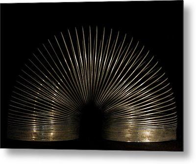 Slinky. Metal Print by Angela Aird