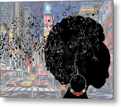 Sound Of Music Collection Metal Print