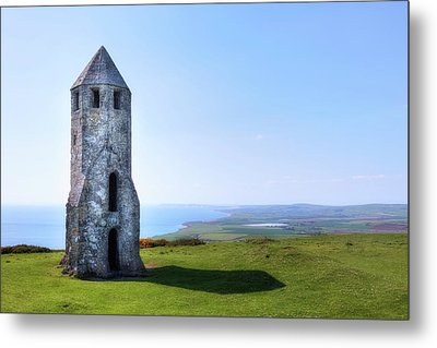 St. Catherine's Oratory -  Isle Of Wight, Metal Print