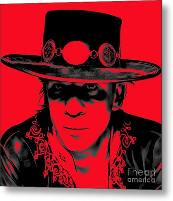 Stevie Ray Vaughan Collection Metal Print