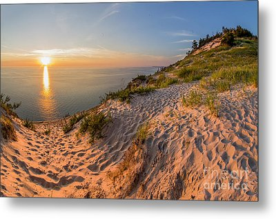 Sunset At Old Baldy Metal Print by Twenty Two North Photography