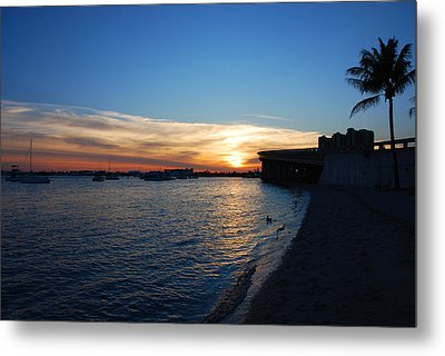 Metal Print featuring the photograph 2- Sunset In Paradise by Joseph Keane