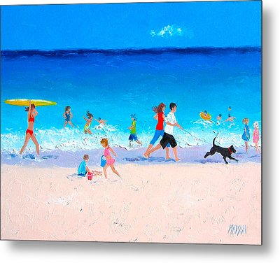 Sunshine And Summertime Metal Print