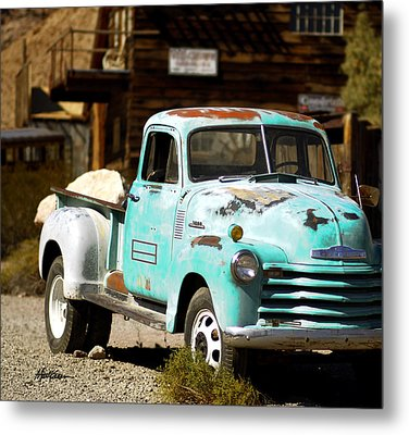 Techatticup Mine Ghost Town Nv Metal Print by Marti Green