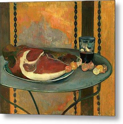 The Ham Metal Print by Paul Gauguin