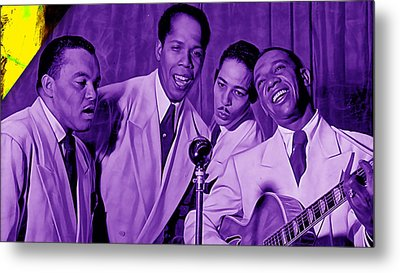The Ink Spots Collection Metal Print