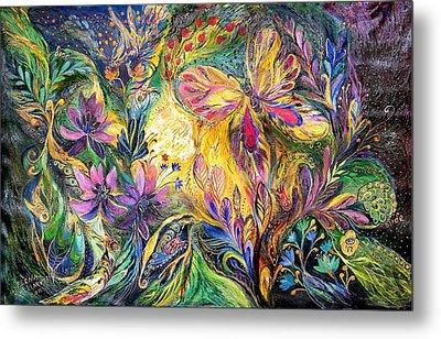 The Life Of Butterfly Metal Print by Elena Kotliarker