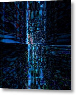 The Light Metal Print by Fania Simon
