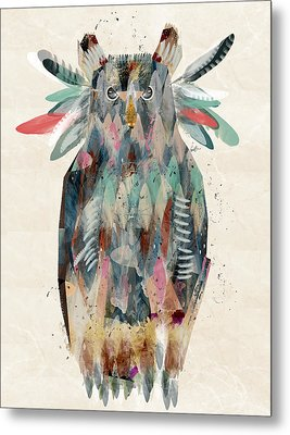The Owl Metal Print by Bri B