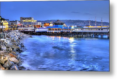 Redondo Landing At Night Metal Print