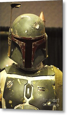 The Real Boba Fett Metal Print