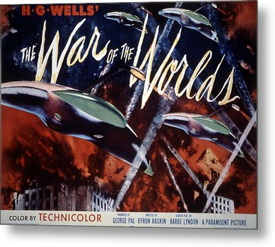 The War Of The Worlds, 1953 Metal Print