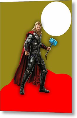 Thor Collection Metal Print by Marvin Blaine