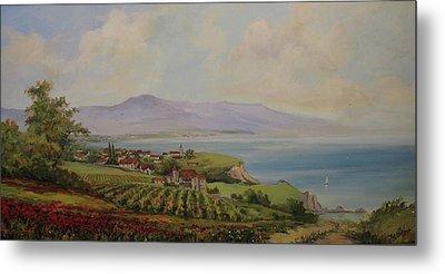 Tuscan Landscape Metal Print by Tigran Ghulyan