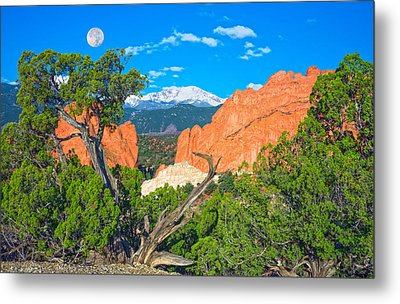 Typical Colorado  Metal Print by Bijan Pirnia