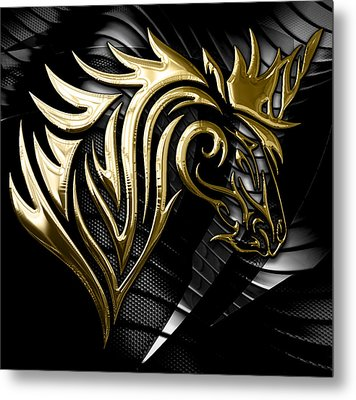 Unicorn Collection Metal Print by Marvin Blaine