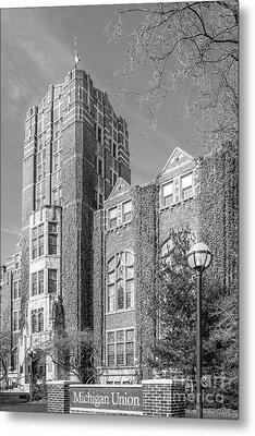 University Of Michigan Union Metal Print