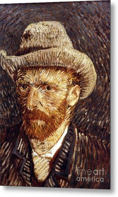 Vincent Van Gogh Metal Print by Granger