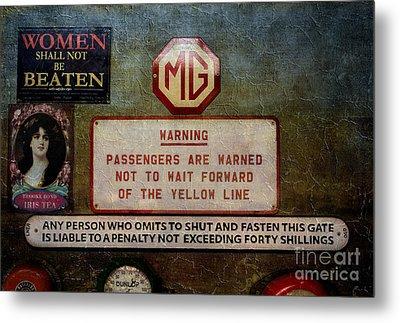 Vintage Signs Metal Print by Adrian Evans