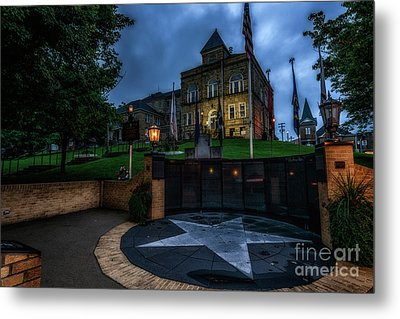 Metal Print featuring the photograph Webster County Courthouse by Thomas R Fletcher