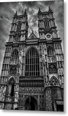 Westminster Abbey Metal Print by Martin Newman