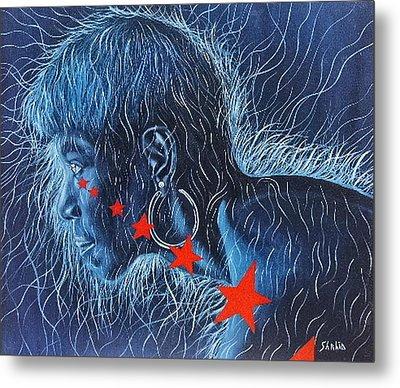 Wilma Metal Print by Shahid Muqaddim