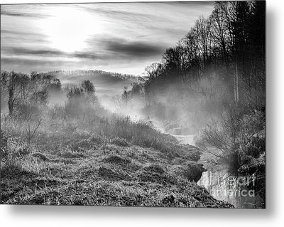 Metal Print featuring the photograph Winter Mist by Thomas R Fletcher