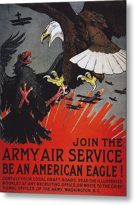 World War I: Air Service Metal Print