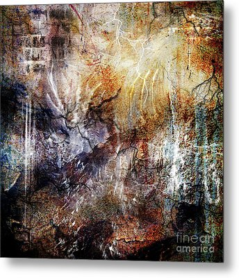Untitled Metal Print by Angelina Cornidez