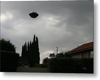 2004 Real Ufo Evidence Metal Print by Michael Ledray